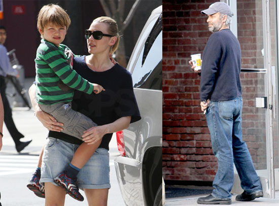 Photos of Kate Winslet and Sam Mendes Near Their NYC Apartment