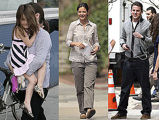 Photos of Katie Holmes and Channing Tatum on the Set of Son of No One in NYC