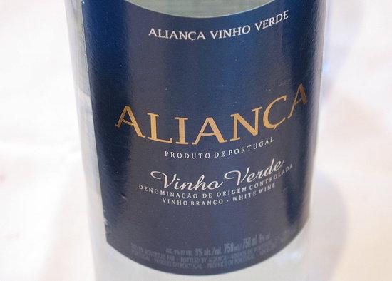 Tasting Notes: Aliança Vinho Verde