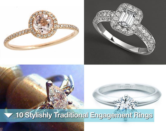 Sugar Shout Out: 10 Classically Stylish Engagement Rings
