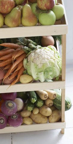 Eating Fruits and Veggies Doesn't Prevent Cancer