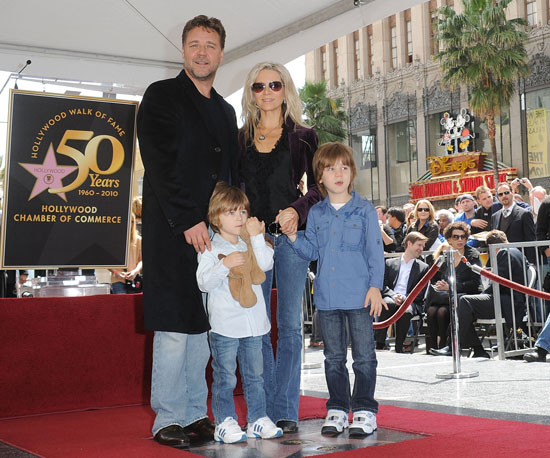 Slide Picture of Russell Crowe on Hollywood Walk of Fame