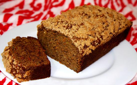 Recipe For Banana Carrot Crumb Bread