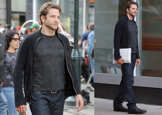 Pictures of Bradley Cooper Filming The Dark Fields in Philadelphia