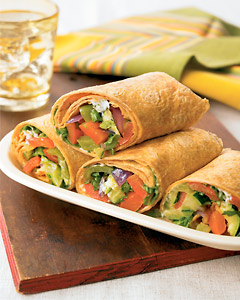 Versatile and Easy Roasted Vegetable Wraps Recipe