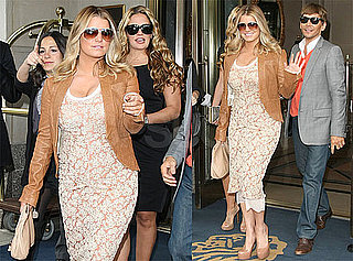 Pictures of Jessica Simpson, Ken Paves, and CaCee Cobb Together in NYC