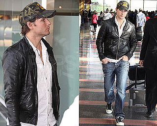 Pictures of Peter Facinelli Arriving For Twilight Convention