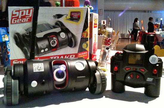 Spy Video TRAKR is First App-Enabled Toy