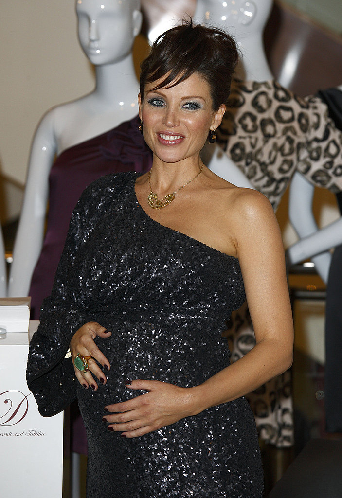 Photos of Pregnant Dannii Minogue Project D Launch