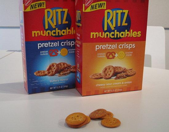 Taste Test: Ritz Munchables Pretzel Crisps