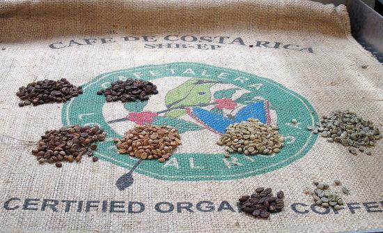 Photos of Starbucks Coffee Roasting Plant Tour