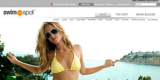 Stylish Swimsuit Website
