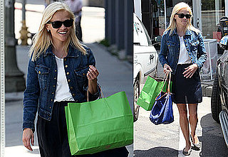 Pictures of Reese Witherspoon Shopping Before Mother's Day