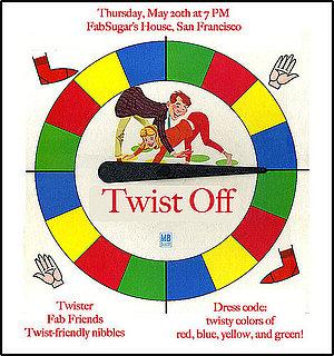 Invite Idea For Twister Game Night