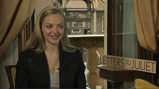 Video of Amanda Seyfried Interview About Boyfriend and Letters to Juliet 2010-05-11 00:01:00