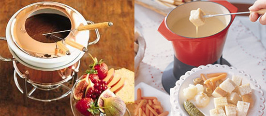 Sweet and Savory Fondue Recipes