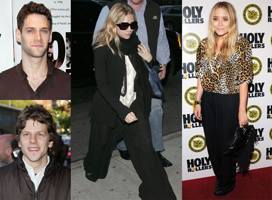 Pictures of Mary-Kate And Ashley Olsen Supporting Justin Bartha at The Premiere of His Film Holy Rollers 2010-05-11 16:00:00
