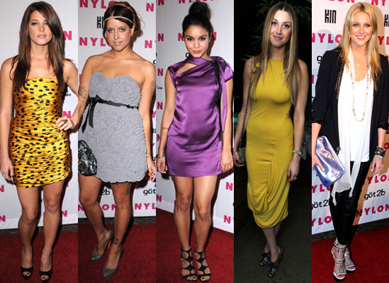 Photos of Best Dressed at Nylon's Young Hollywood Party