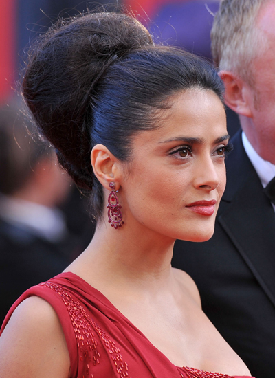 Salma Hayek at the Premiere of Il Gattopardo