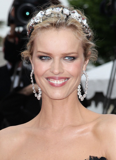 Eva Herzigova at the Premiere of The Princess of Montpensier