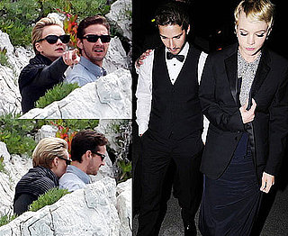 Pictures of Shia LaBeouf and Carey Mulligan Hugging in Cannes