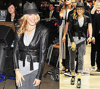 Pictures of Sarah Jessica Parker in Japan Promoting Sex and the City 2 2010-05-31 10:00:00