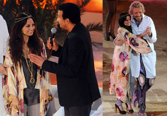 Pictures of Nicole Richie and Lionel Richie on German TV Show Wetten Dass 2010-05-24 16:00:00