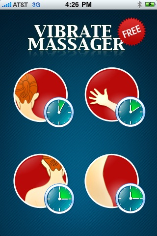 Review of Vibrating Massager Free iPhone App