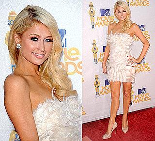 Paris Hilton at 2010 MTV Movie Awards 2010-06-06 17:40:03