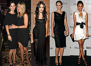 Pictures of Jennifer Aniston, Courteney Cox, Vanessa Hudgens, Emily Blunt, Zoe Saldana at Crystal and Lucy Awards