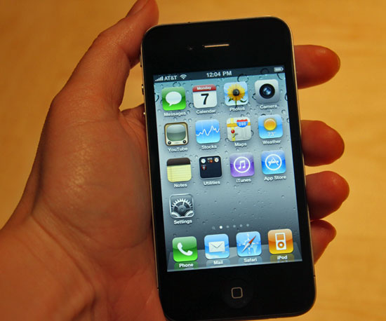 Pictures of the iPhone 4 at WWDC 2010-06-07 16:15:49