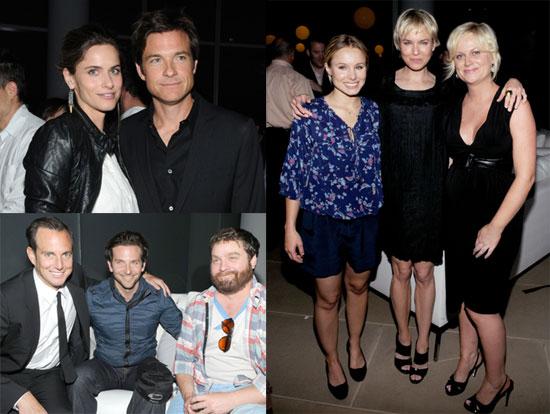 Pictures of Amanda Peet, Kristen Bell, Renée Zellweger, Bradley Cooper, Jason Bateman, and Amy Poehler at the Launch of DumbDumb 2010-06-14 16:30:59
