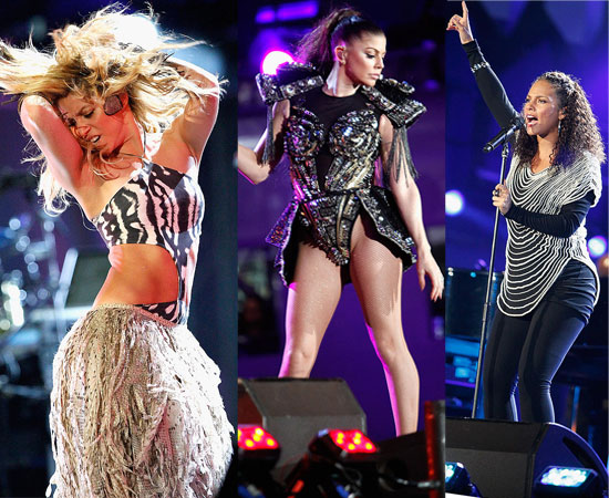 Pictures from the World Cup Kickoff Concert in South Africa Including Shakira, Alicia Keys, Fergie, Cristiano Ronaldo