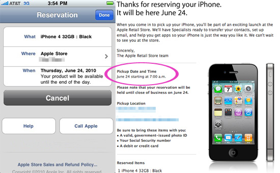 iPhone 4 Launch Time, Apple Stores Open at 7:00am