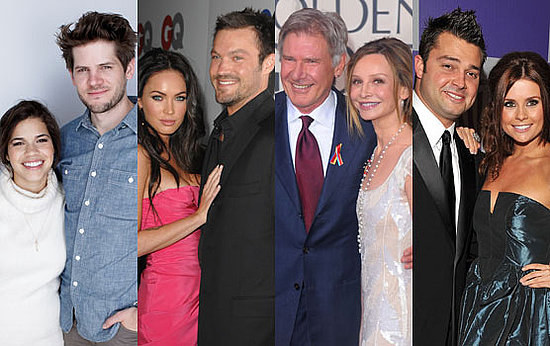 Pictures of Engaged Couples Megan Fox and Brian Austin Green, Joanna Garcia and Nick Swisher, America Ferrera and Ryan Williams