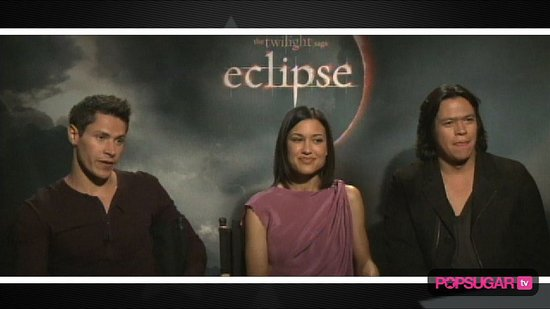 Cast Interview For Eclipse