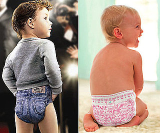 Huggies and Pampers Designer Diapers