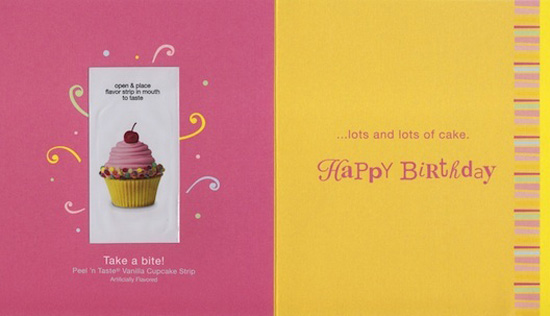 American Greetings Introduces Tasties Peel and Lick Greeting Cards