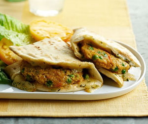 Falafel Patty Melt Recipe