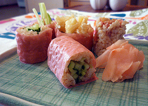 How to Make Healthy Sushi