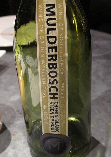 Wine Review: 2009 Mulderbosch Chenin Blanc