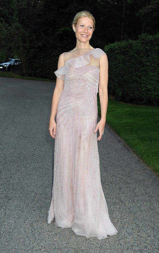 Gwyneth Paltrow pretty in pink.