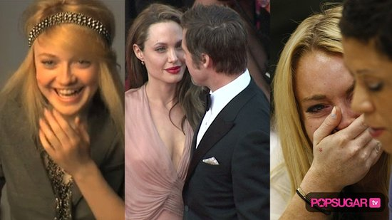 Video of Dakota Fanning Photo Shoot, Angelina Jolie Interview About Brad Pitt, and Timeline of Lindsay Lohan in Rehab and Jail 2010-07-07 15:08:13