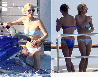 Paris Hilton Bikini Photos in Sardinia After Allegedly Being Detained For Pot Possession