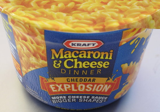 Photo Gallery: Kraft Macaroni & Cheese Cheddar Explosion