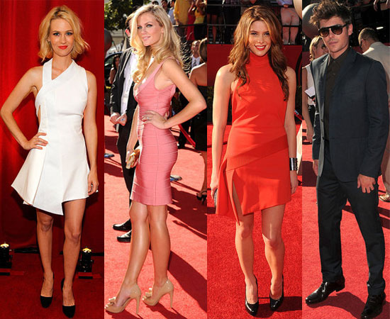 Ashley Greene, Zac Efron, Marissa Miller, January Jones, Brooklyn Decker at 2010 ESPY Awards