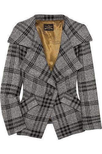 Vivienne Westwood Anglomania|Propaganda wool plaid jacket|NET 1055