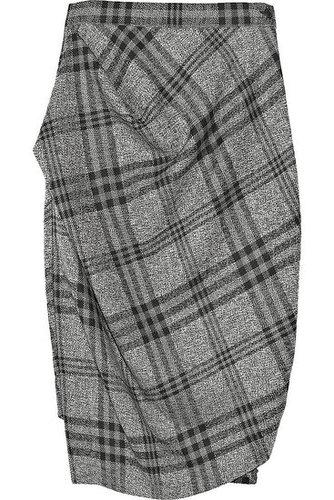Vivienne Westwood Anglomania|Philosophy wool plaid skirt|NET 450