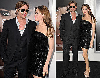 Pictures of Brad Pitt and Angelina Jolie at LA Salt Premiere