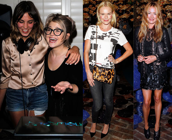 Kelly Osbourne Laughing With Alexa Chung At Mulberry Party After Breakup, Plus Kate Bosworth, Cat Deeley 2010-07-21 16:30:00